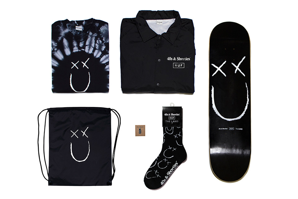 40s & Shorties x HUF - TRENDS periodical