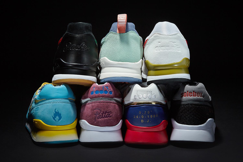 Deux sneakers Diadora dans une épique collaboration