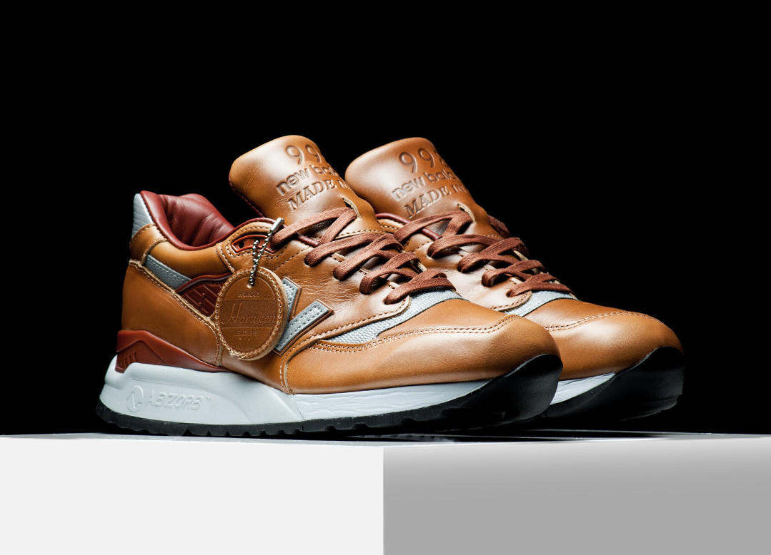 Voici la collection « Horween Leather » de New Balance