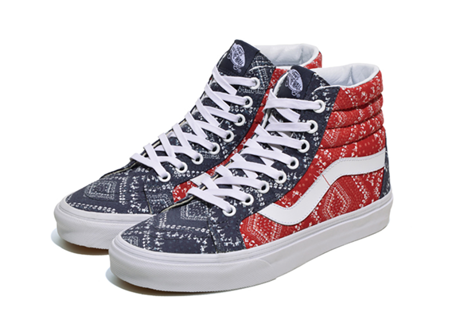 Vans « Bandana » Pack : California Dreamin' !
