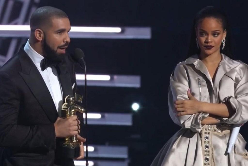 Quand Drake fait une déclaration à Rihanna en plein MTV VMAs