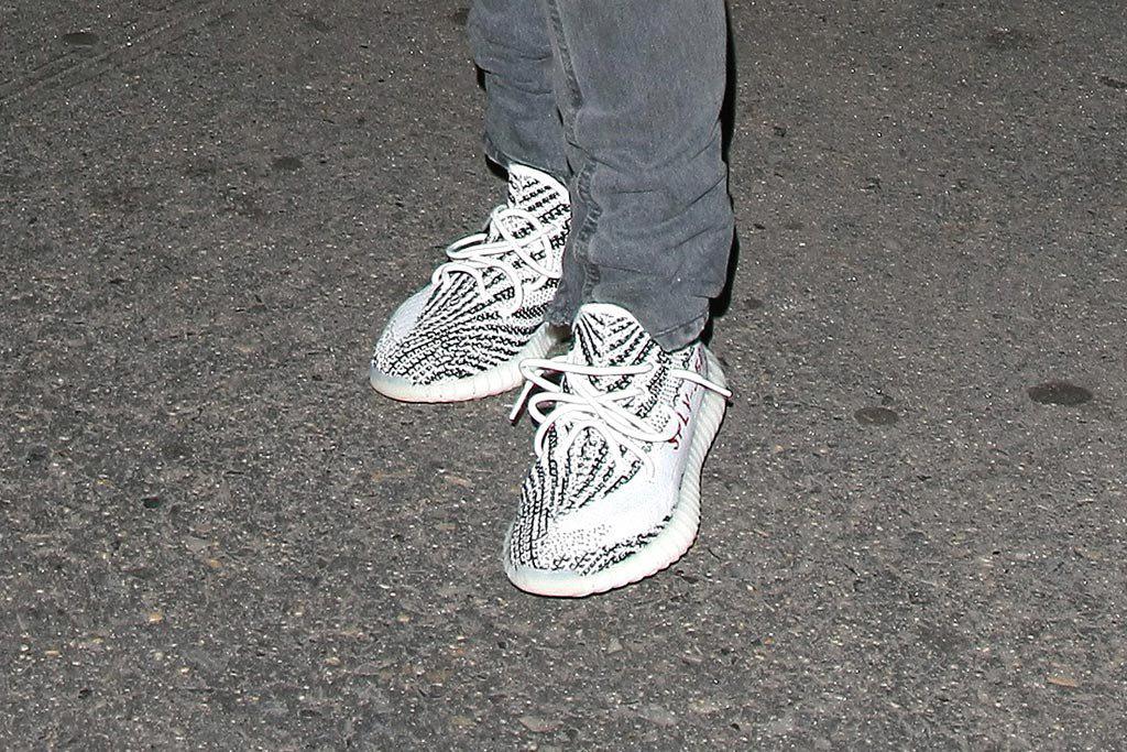 Une nouvelle Yeezy Boost aperçue aux pieds de Kanye West
