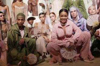 Découvrez le défilé parisien Fenty x Puma by Rihanna