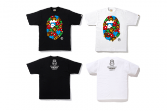 BAPE monster strike collaboration
