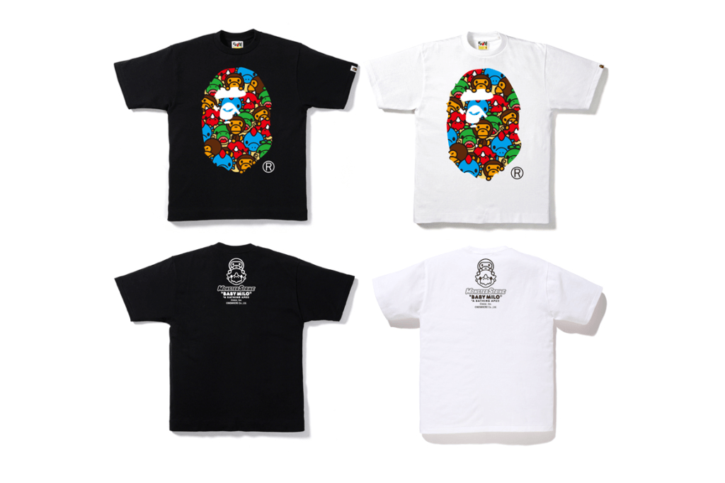 BAPE balance une collaboration avec « Monster Strike »