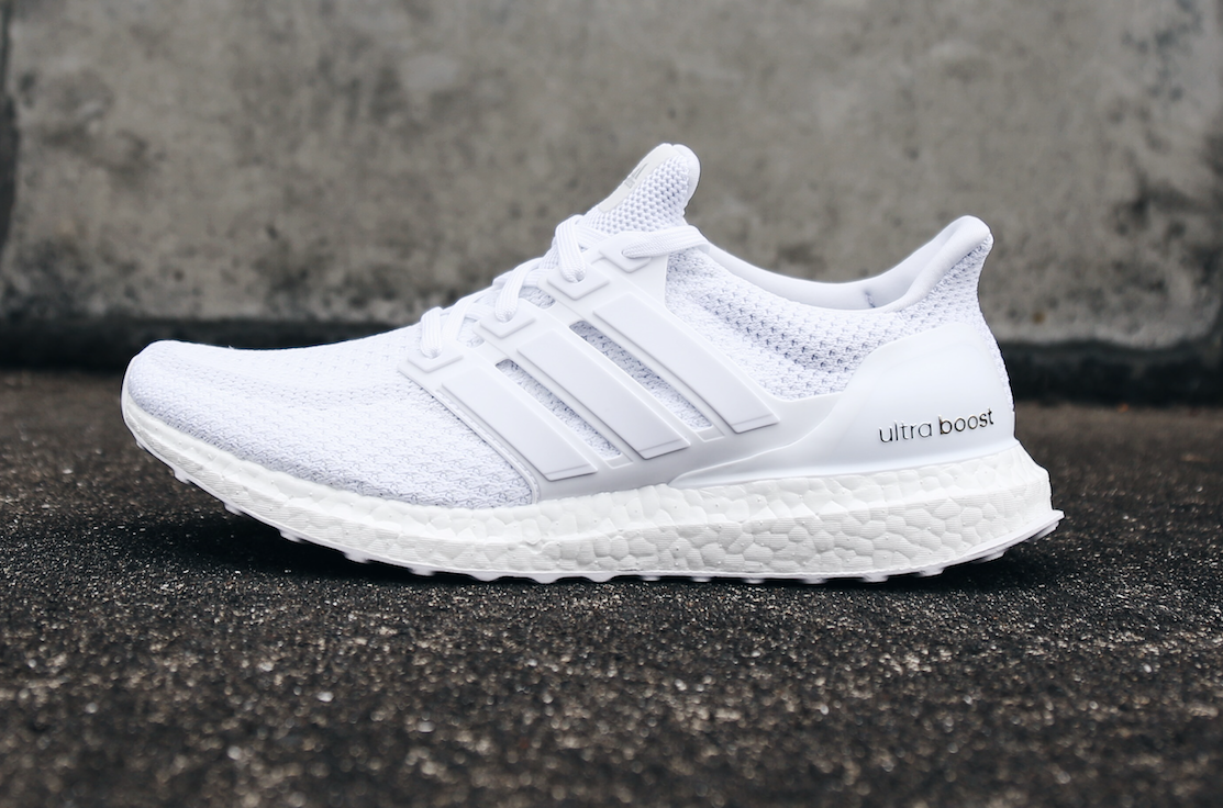 Dernier restock pour l'Adidas triple white ultra boost