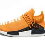 pharrell adidas nmd human race orange