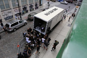 adidas by alexander wang pop-up trucks
