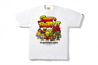 bape street fighter collection