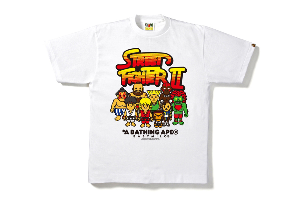 BAPE va sortir des t-shirts « Street Fighter »