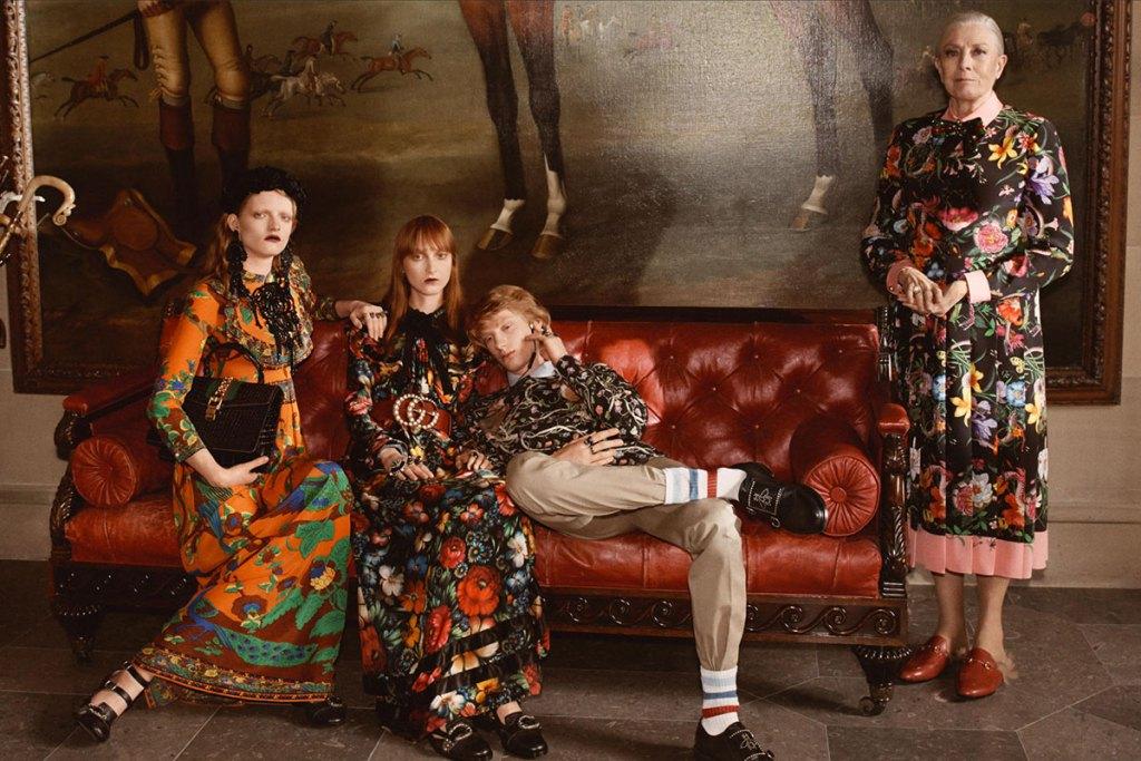 Gucci lance sa campagne de pub pour 2017