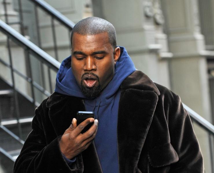 Kanye West est enfin sur Instagram !