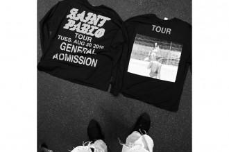 """Kanye West dévoile de nouvelles pièces pour le merchandising du """"Saint Pablo"""" Tour"""
