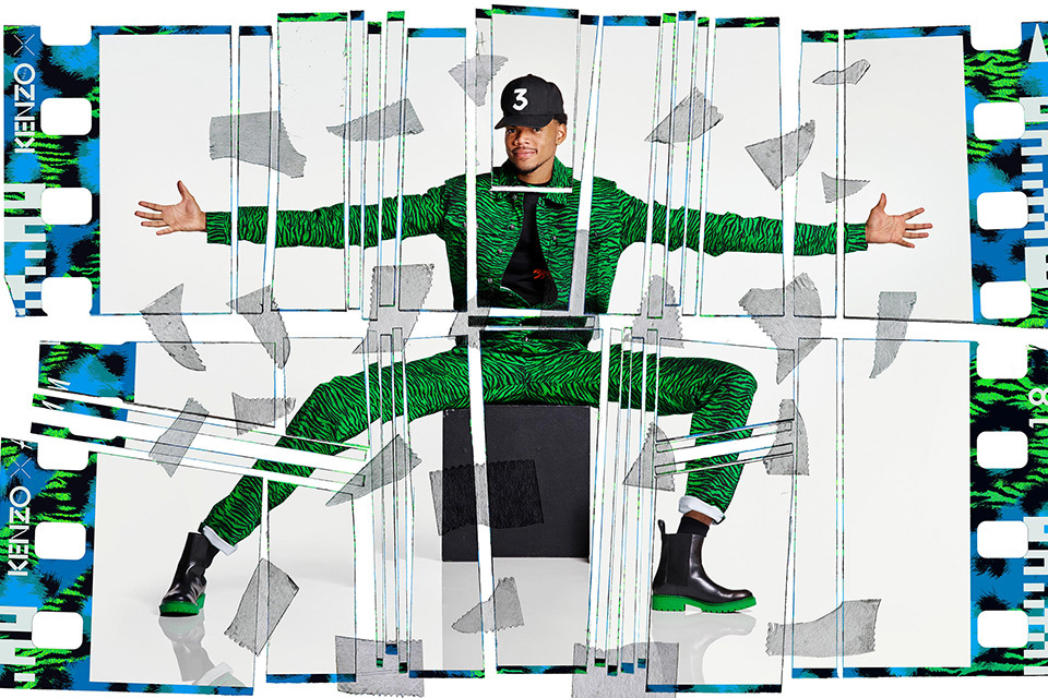 H&M Kenzo chance the rapper