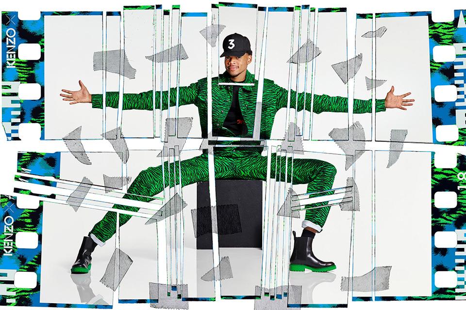 Chance The Rapper pour la collab' H&M x Kenzo