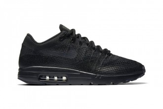 "Nike air max 1 ultra flyknit ""triple black"""