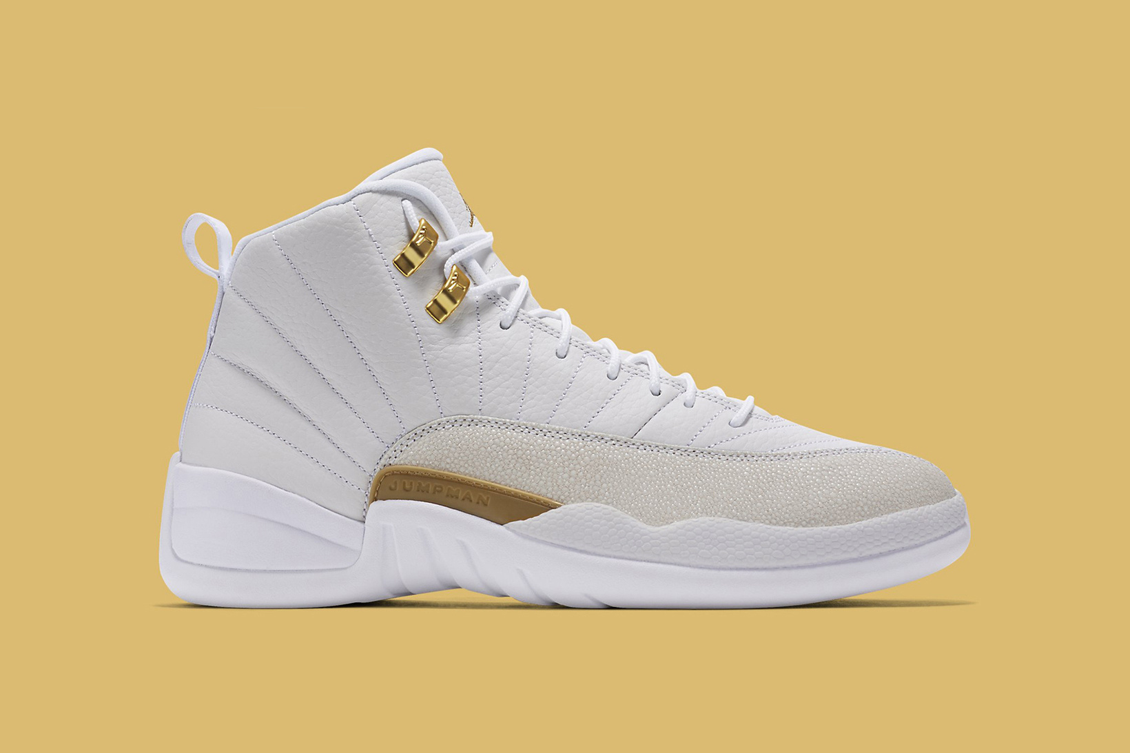 Nike dévoile la «white» Air Jordan 12 en collab' avec OVO