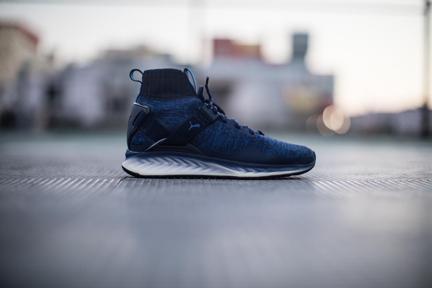 puma ignite bleu