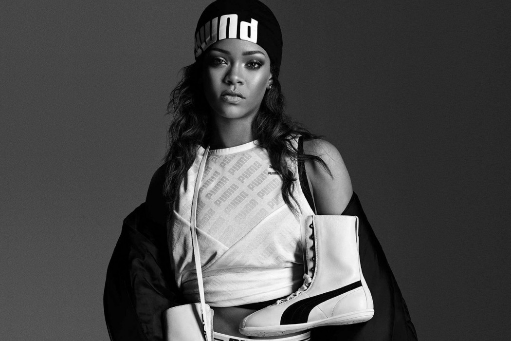 rihanna puma fenty défilera paris fashion week