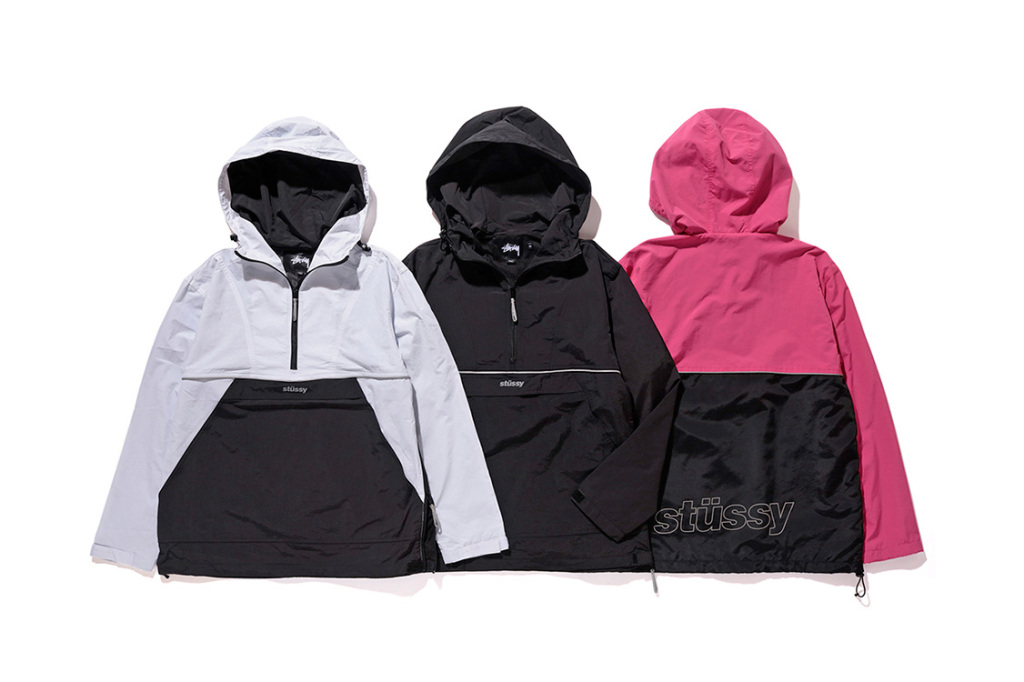 stussy fall winter 2016 anoraks