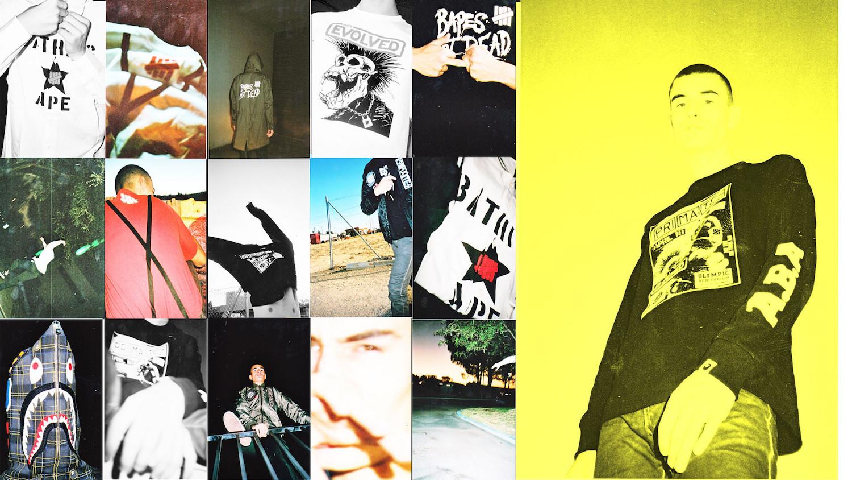 Voici les premières images de la collec' Undefeated x BAPE