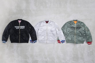 Undercover x supreme collection fall winter 2016 bombers