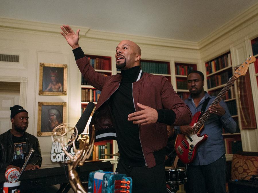 Inédit : le concert privé de Common à la Maison Blanche