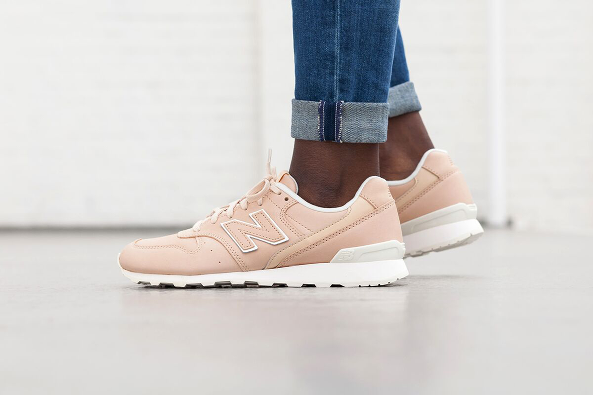 new balance gris et rose pale