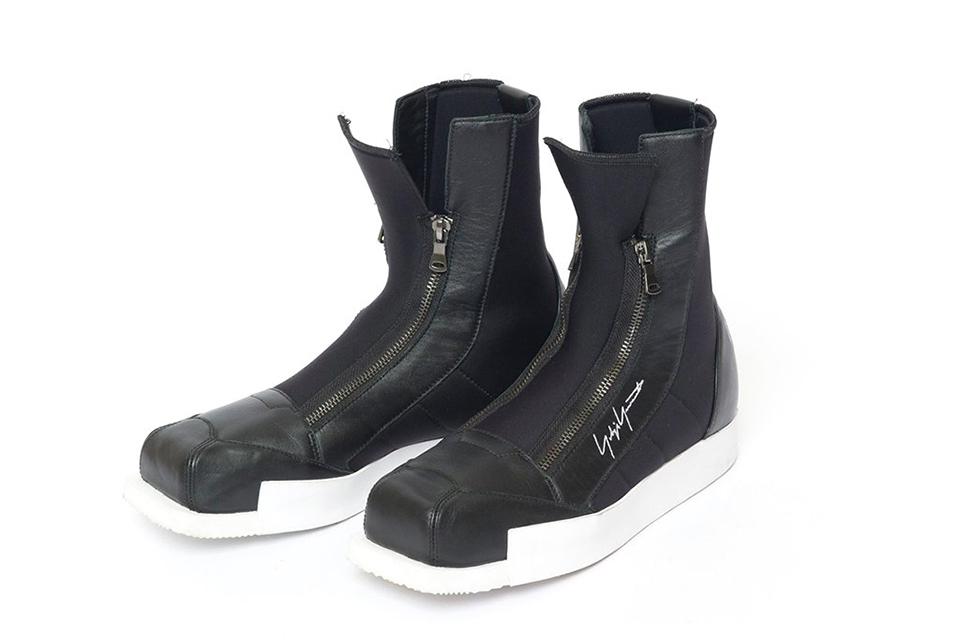 Yohji Yamamoto x Adidas Square Zip Boots - TRENDS periodical