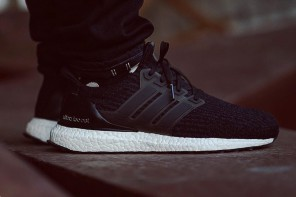Découvrez la nouvelle adidas Ultraboost 3.0 «Core Black»