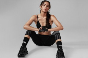 Découvrez les nouvelles chaussettes de fitness Adrianne Ho x Stance