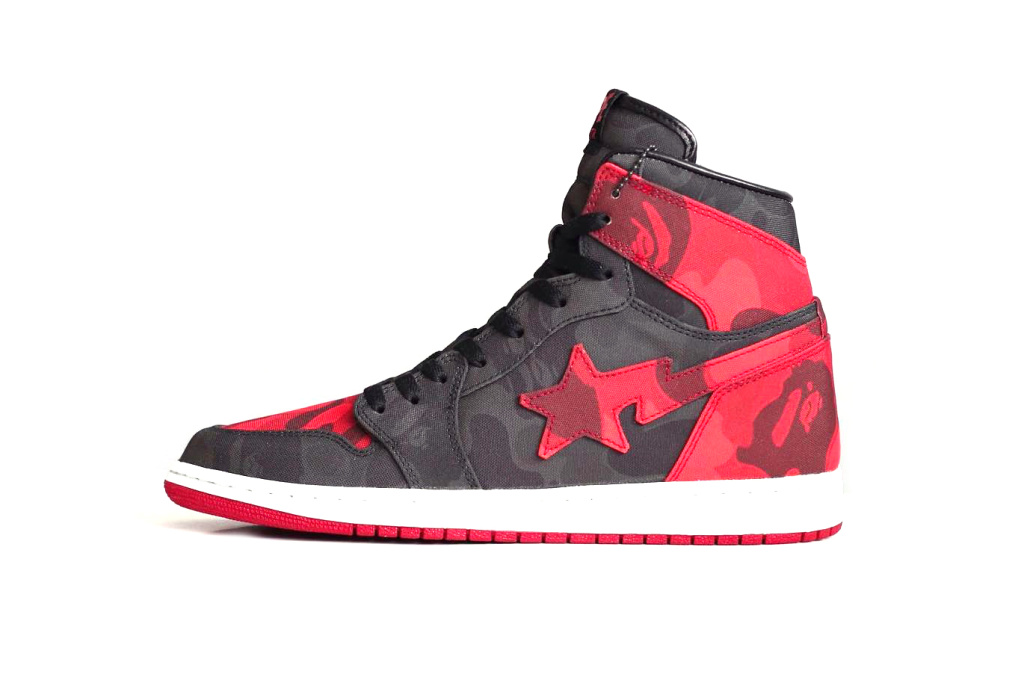 Air Jordan 1 x Bape - TRENDS periodical