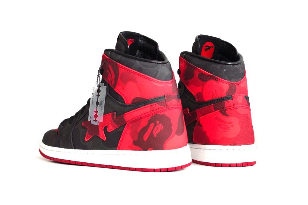 Air Jordan 1 x Bape - TRENDS periodical
