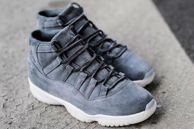 Air Jordan 11 Premiun Grey Suede - TRENDS periodical