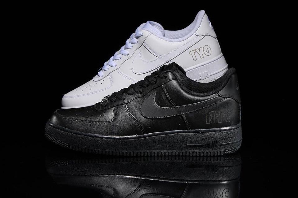 Découvrez l'inédite Atmos x Nike Air Force 1