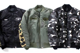 Bape x Alpha Industries Bombers - TRENDS periodical