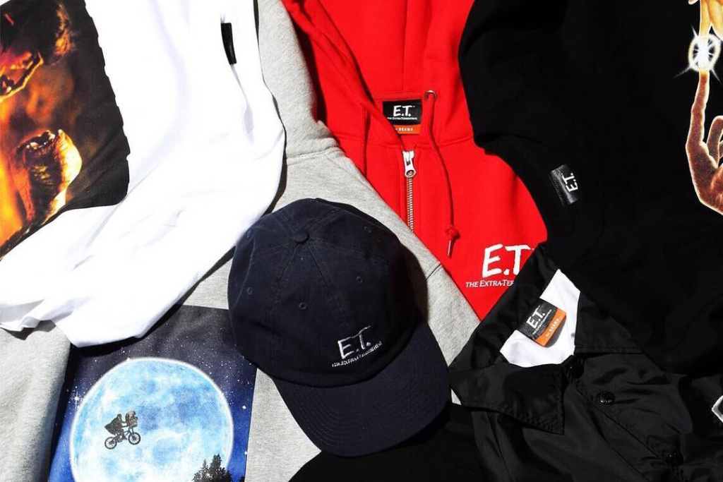 Nouvelle collection BEAMS « E.T The Extra Terrestrial »