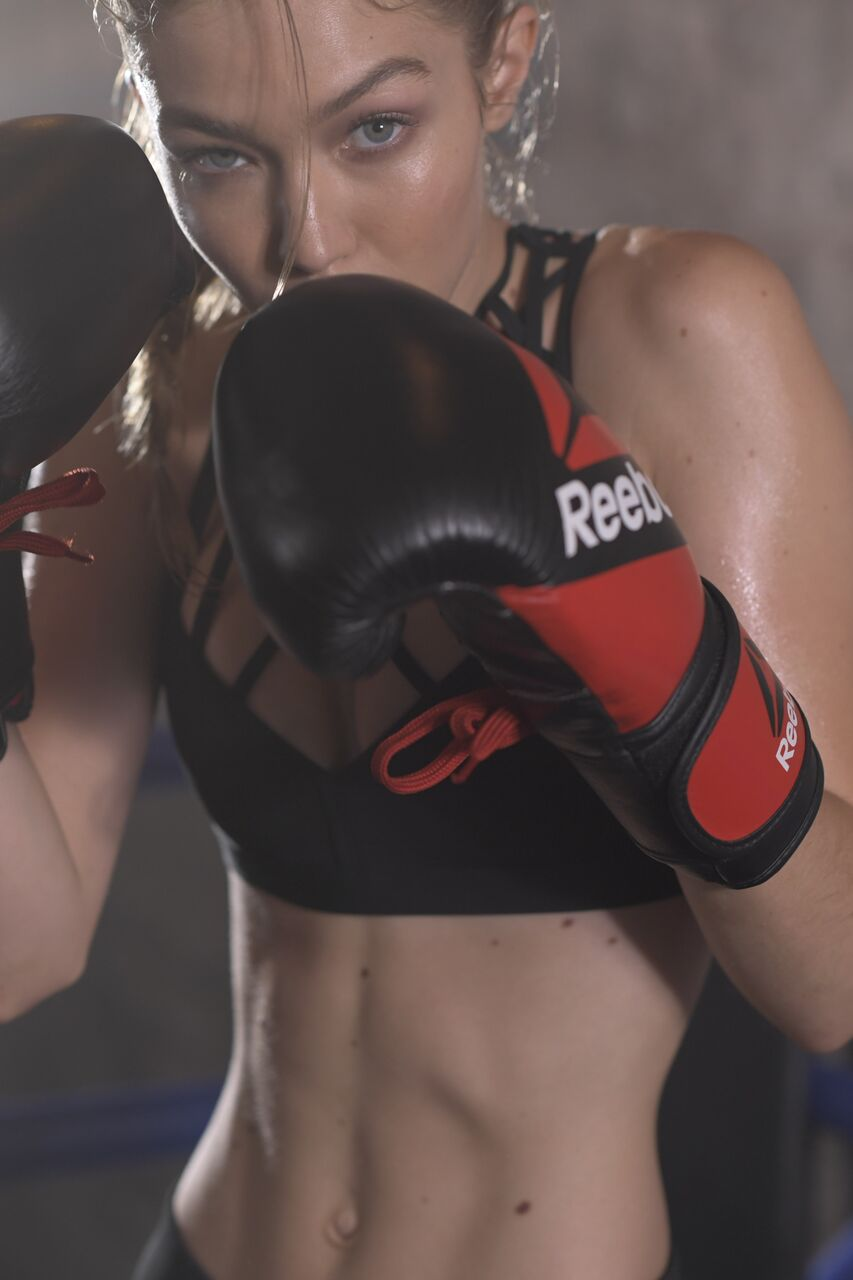 Gigi Hadid x Reebok Campagne - TRENDS periodical