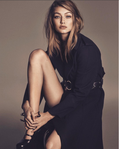 Gigi Hadid Vogue Japan - TRENDS periodical