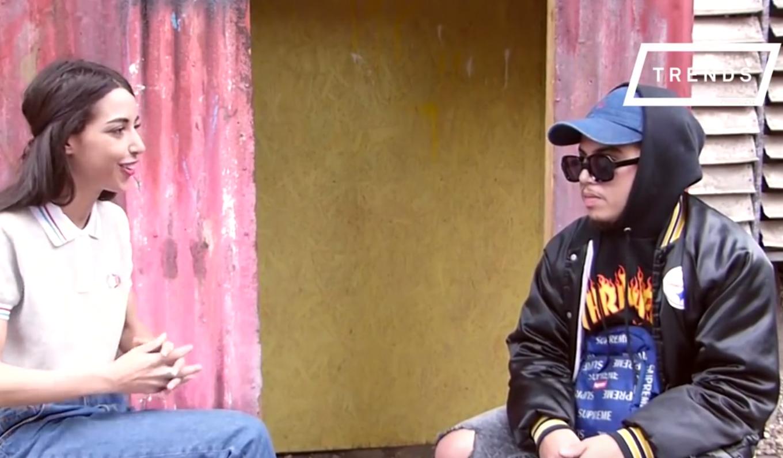 HAMZA en interview pour TRENDS : «Le but, c'est de faire danser les meufs !»