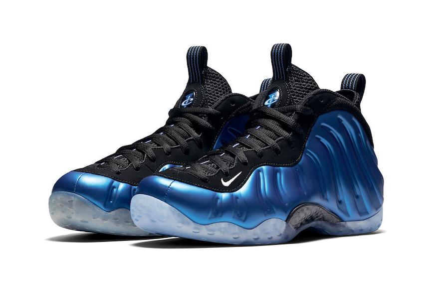 "Découvrez la Nike Air Foamposite One 20th Anniversary ""Royal"""