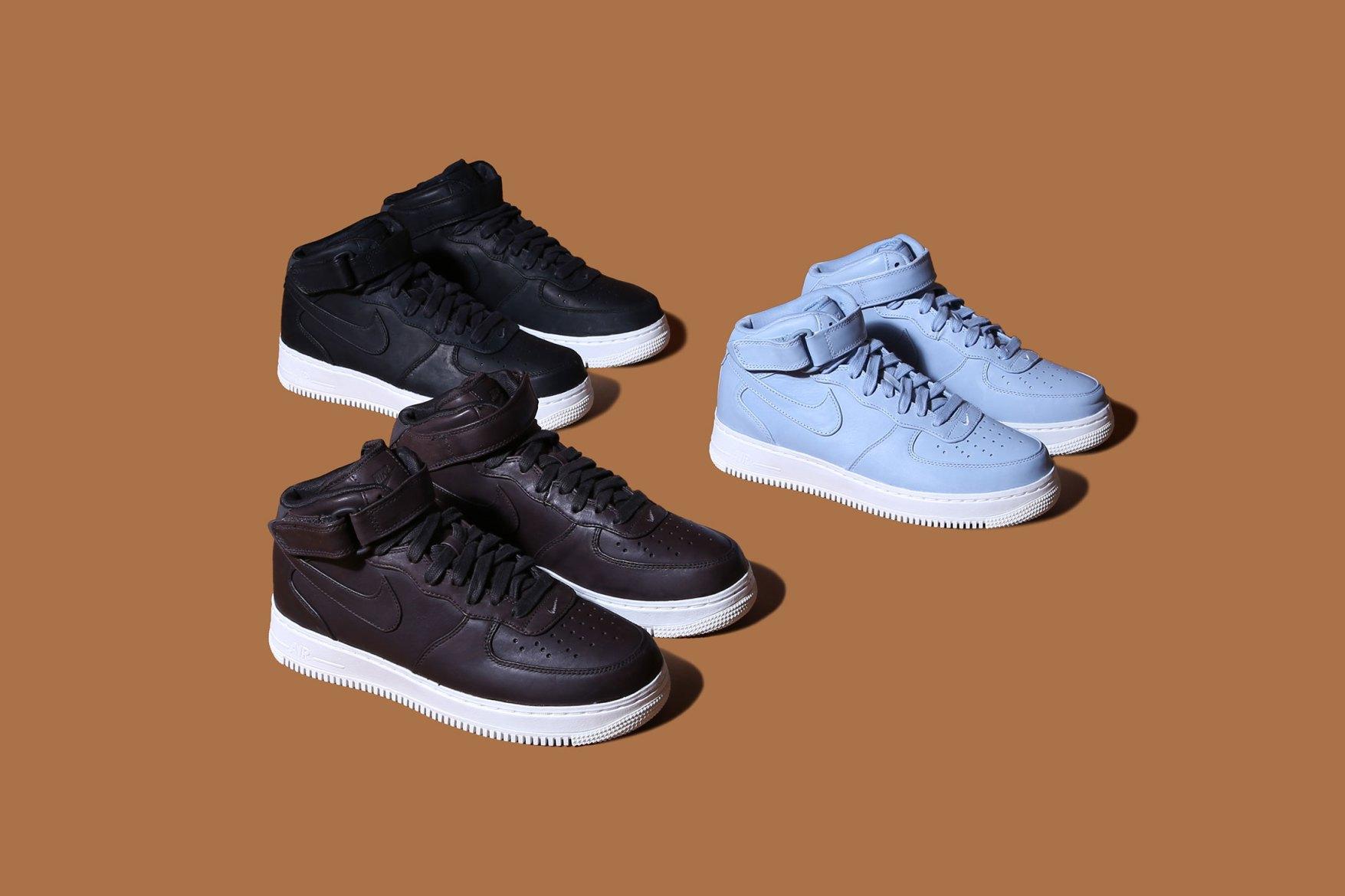 NikeLab dévoile trois nouvelles Air Force 1