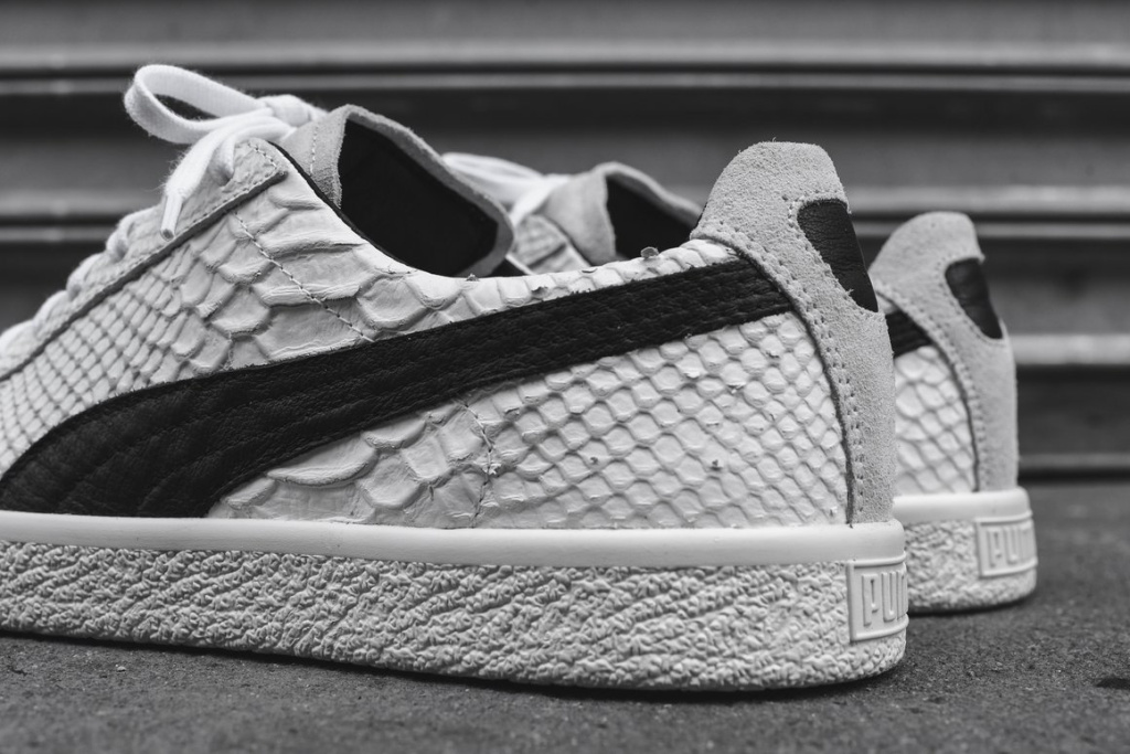 Puma Clyde SnakeSkin - TRENDS periodical
