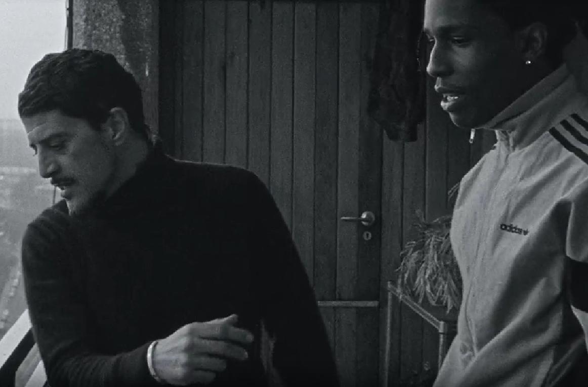Une nouvelle vidéo d'A$ap Rocky avec Saïd Taghmaoui en Tacchini