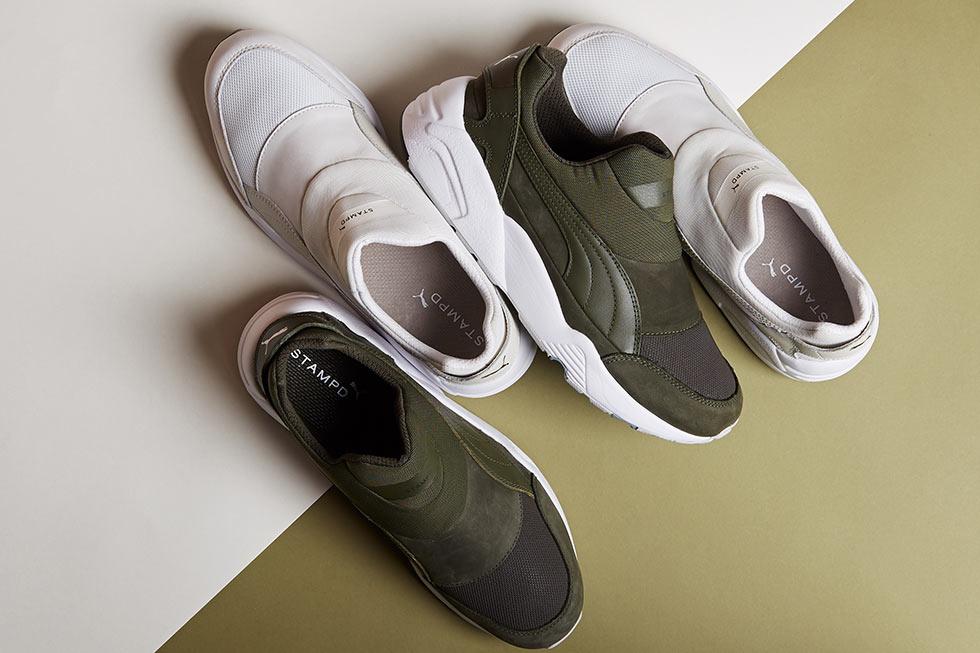 Stampd et Puma s'associent sur une nouvelle gamme de sneakers