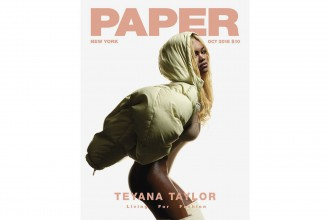 Teyana Taylor Cover PAPER magazine - TRENDS periodical