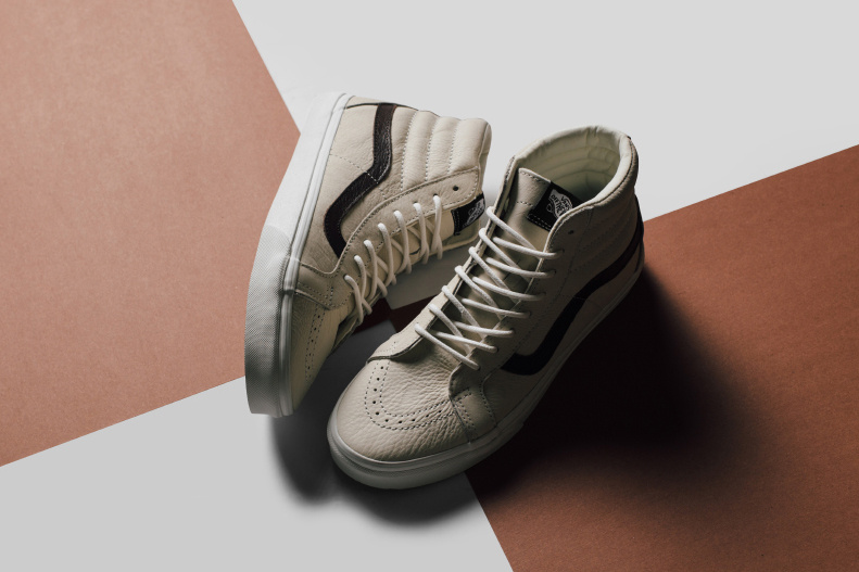 Vans BLANC DE BLANC collection - TRENDS periodical