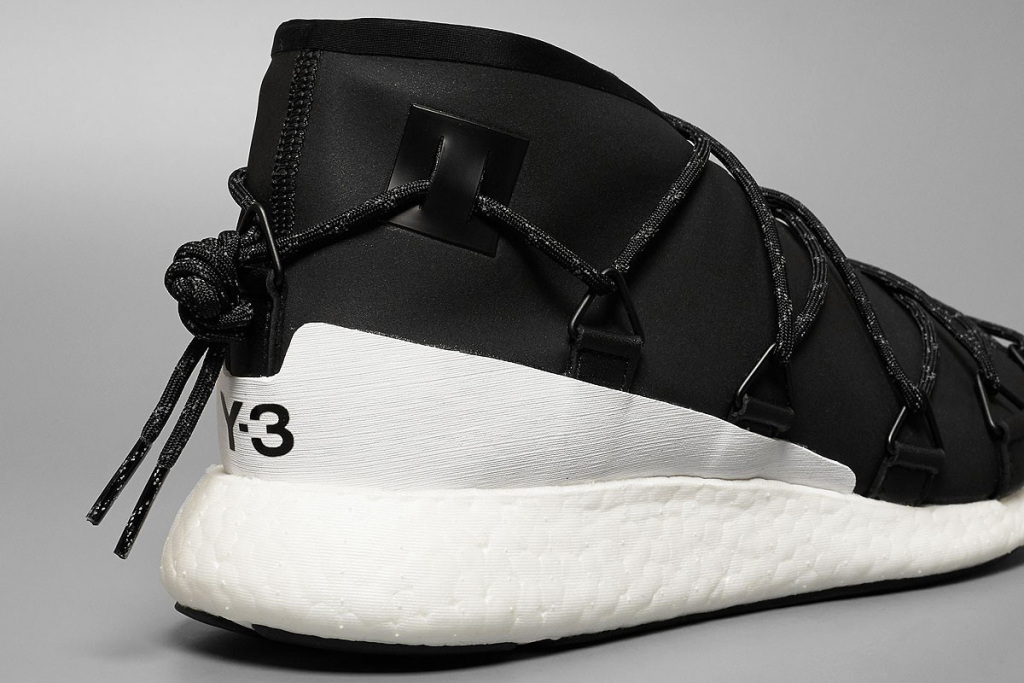 Y-3 Cross Lace Run by Yohji Yamamoto x adidas - TRENDS periodical