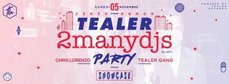 Tealer x Showcase Paris x SoulWax x Chris Lorenzo x Poggio - TRENDS periodical