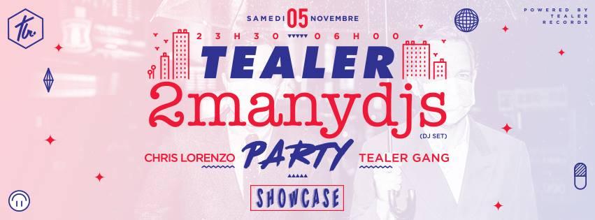 Venez nombreux au Showcase pour la Tealer Party demain soir !